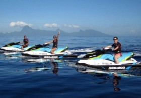Dolphin Watching by Jet Ski from West Coast - 01H00 / Morning Tour (1Pers Max per Jet)