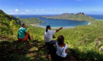 Discovery of Marquesan islands