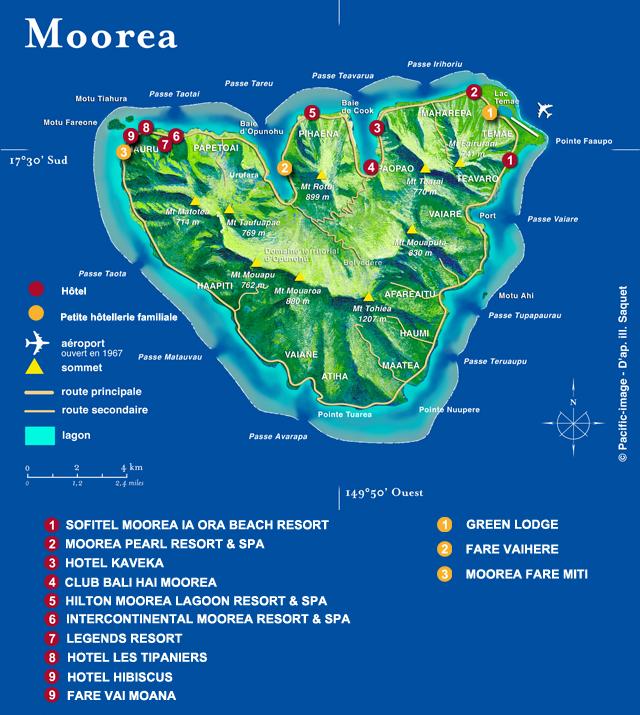 Golf At The 18 Hole Moorea Club