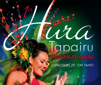 Flyer contest of ori tahiti - Hura Tapairu International