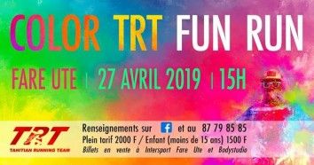 Color Fun Run 2019 Poster - 6th edition
