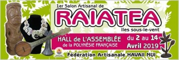 Poster of the 1st Raiatea Crafts Fair