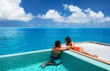 Overwater Villa with Pool at Conrad resort - 5 nights