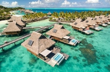 Bora Bora Overwater Villa with Pool (at Conrad resort)
