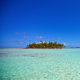 Islet of Rangiroa - French Polynesia - The islands of Tahiti